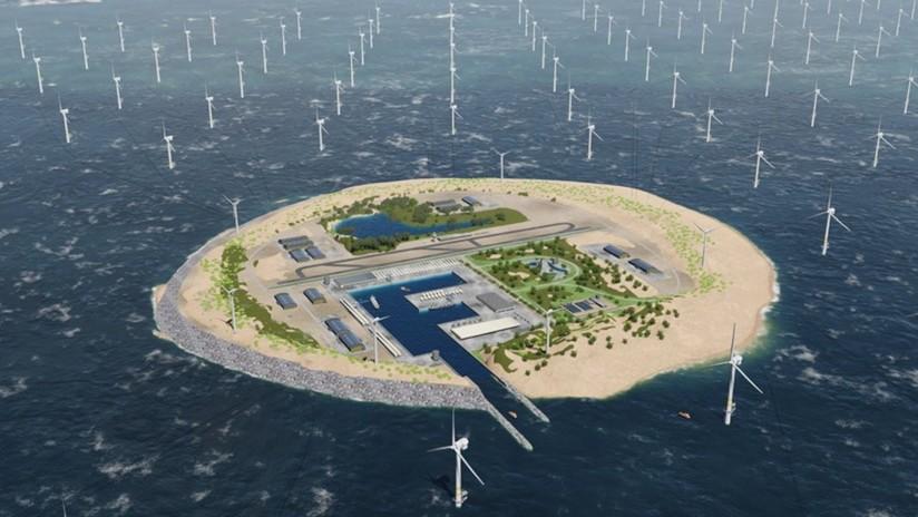 VIDEO: Esta isla artificial podría abastecer de energía renovable a 80 millones de personas