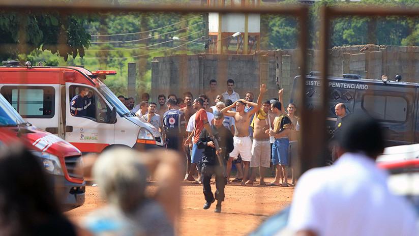 Tercer motín en menos de una semana en un complejo penitenciario en Brasil