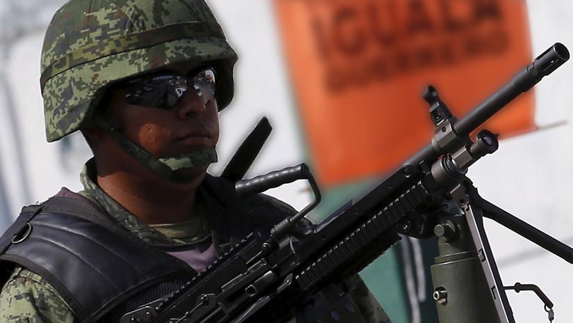 El Ejército mexicano desarma a la Policía de Chilpancingo (FOTOS, VIDEO)