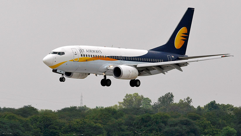Suspenden a dos pilotos de Jet Airways después de una pelea en pleno vuelo