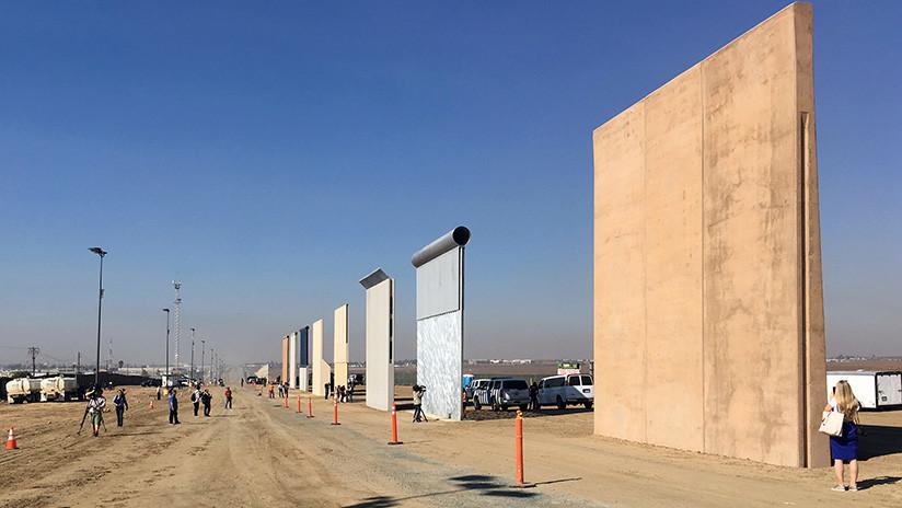 Trump pide 18.000 millones de dólares al Congreso para construir el muro fronterizo con México