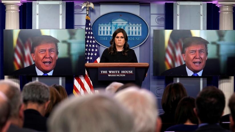 """""""Nunca he visto algo así"""": Una extraña videoconferencia de Trump se convierte en meme viral (FOTOS)"""