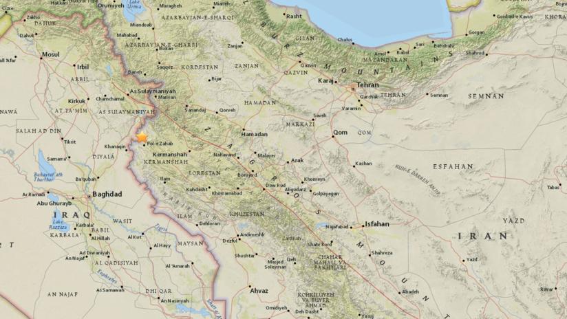 Sismo de magnitud 5,1 impacta la misma zona de Irán afectada por un violento terremoto en noviembre