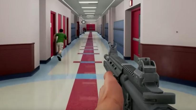 El Ejército de EE.UU. presenta un simulador de tiroteos masivos en escuelas para profesores