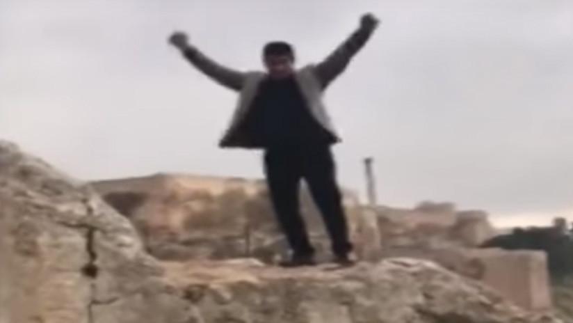 Muere tras caer al vacío mientras sus amigos lo filmaban el día de su cumpleaños (VIDEO)