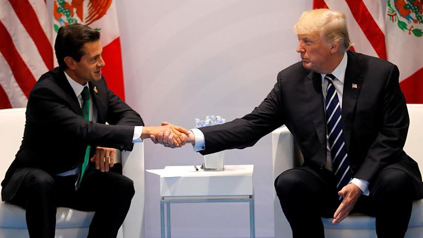 """EE.UU. califica de """"muy buena"""" su relación con México pero insiste en que pagará el muro"""