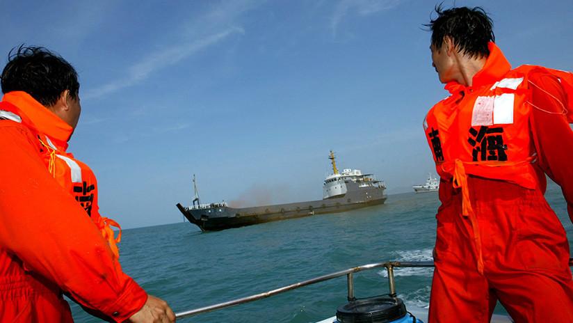 32 desaparecidos tras colisionar dos barcos cerca de la costa china