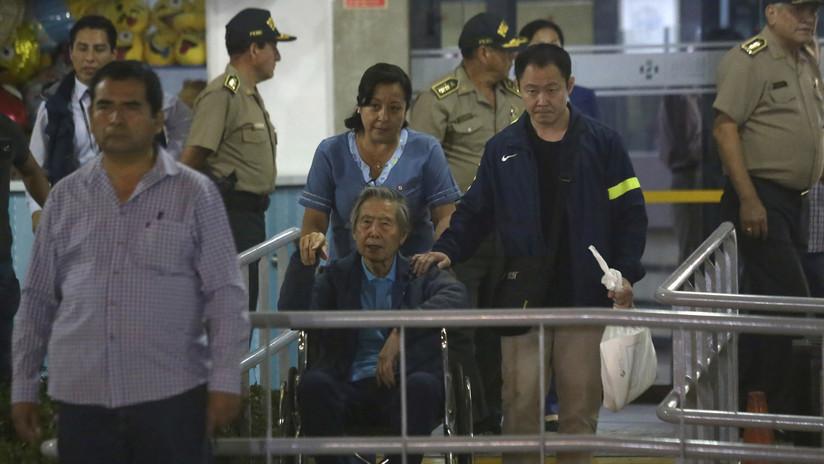 """""""Varios sueños me invaden constantemente"""":  Primeras declaraciones de Fujimori tras su liberación"""