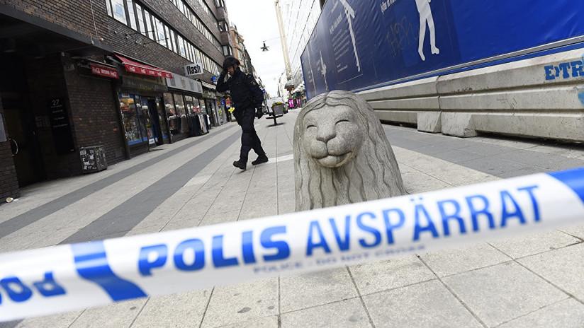 Suecia: Explosión cerca de una estación de metro en Estocolmo