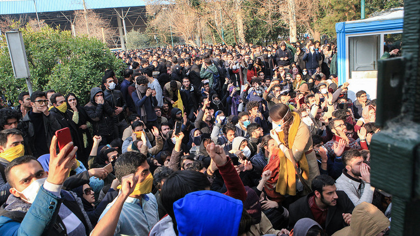 Las autoridades iraníes detienen a los organizadores de las protestas antigubernamentales