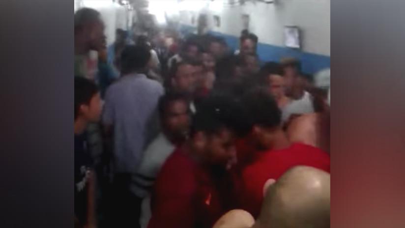 Orgía de drogas: presos aspiran más de 100 rayas de cocaína en una cárcel de Brasil (VIDEO 18+)