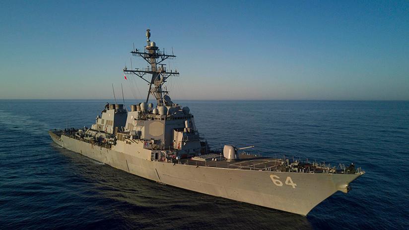 Un destructor de EE.UU. armado con misiles Tomahawk llega al puerto ucraniano de Odesa