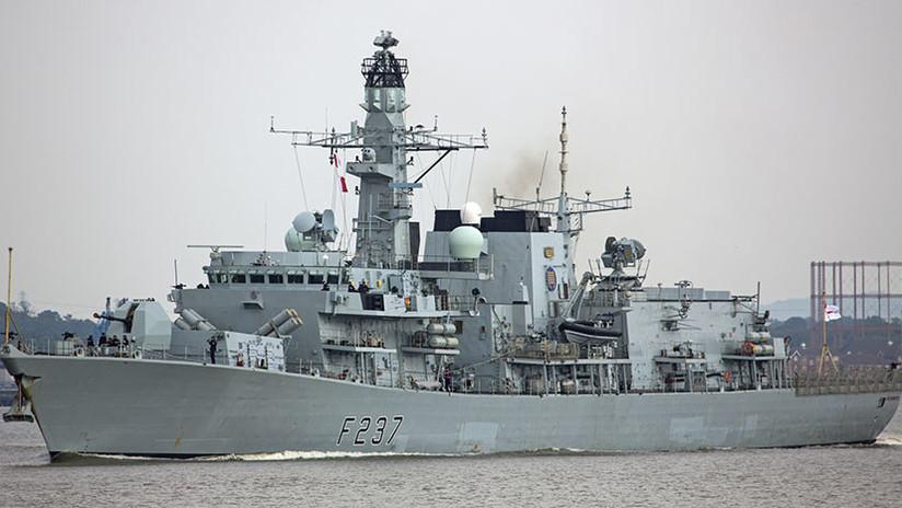 VIDEO: El Reino Unido envía una fragata para seguir a buques rusos en el Canal de la Mancha
