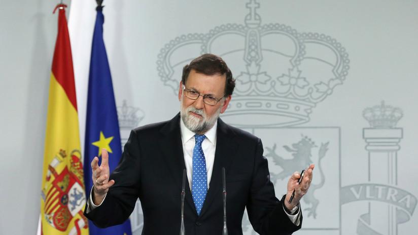 """Rajoy afirma que  """"el secesionismo"""" y el """"populismo"""" lastran la economía española"""