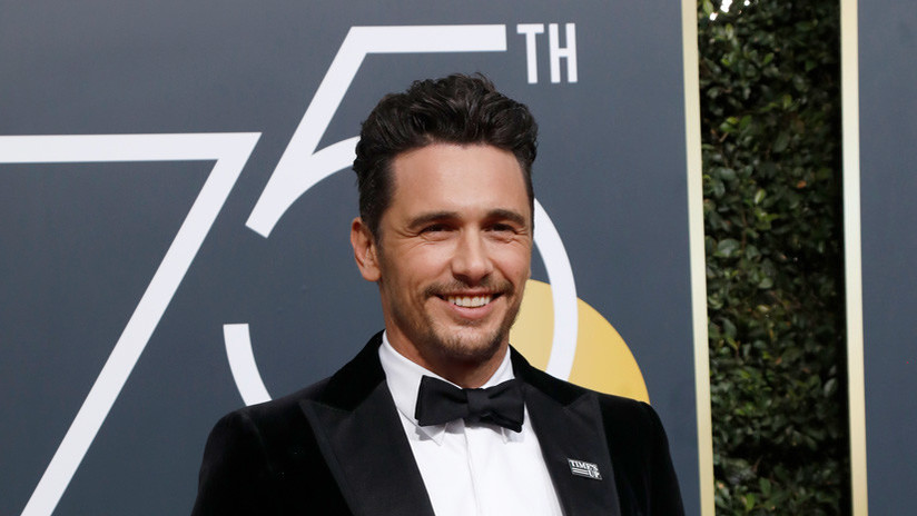 El actor James Franco, acusado de acoso sexual por tres actrices tras ganar el Globo de Oro