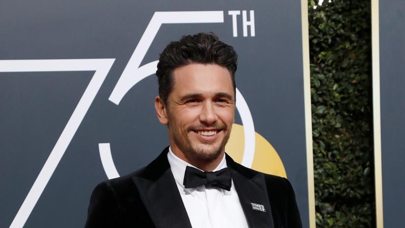 El actor James Franco, acusado de acoso sexual por tres actrices tras ganar el Globo de Oro