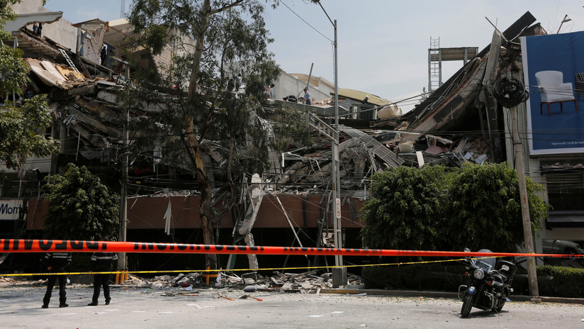 """Sismólogo mexicano: """"El terremoto del 7-S podría provocar más movimientos telúricos en el país"""""""