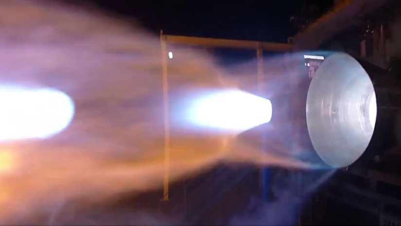 VIDEO: En prueba el motor cohete estadounidense que busca rivalizar con el ruso RD-180
