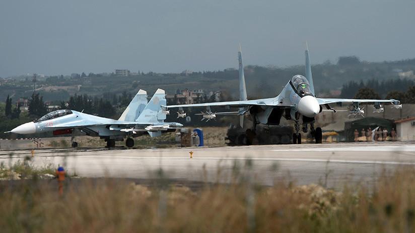 FOTO: Rusia difunde una nueva foto de los drones de los yihadistas que atacaron sus bases en Siria