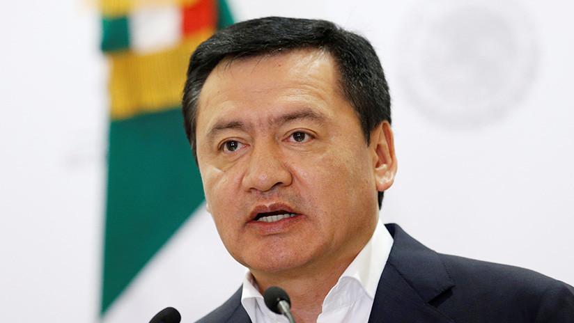 El secretario de Gobernación de México anuncia su renuncia