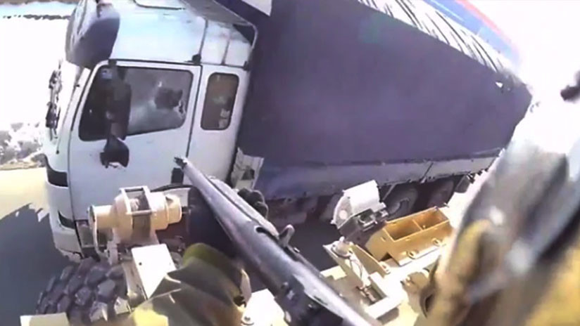 Un video parece mostrar a un soldado de EE.UU. disparando contra un camión civil en Afganistán