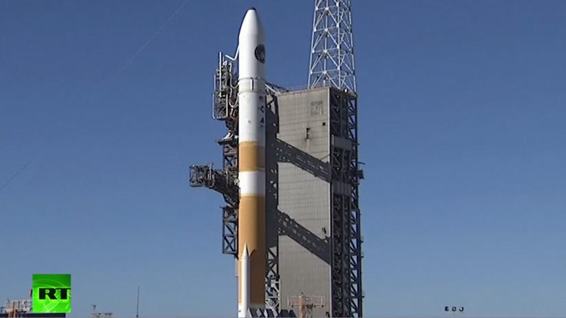 VIDEO: Suspenden el lanzamiento del cohete Delta IV en el marco de una misión secreta de EE.UU.