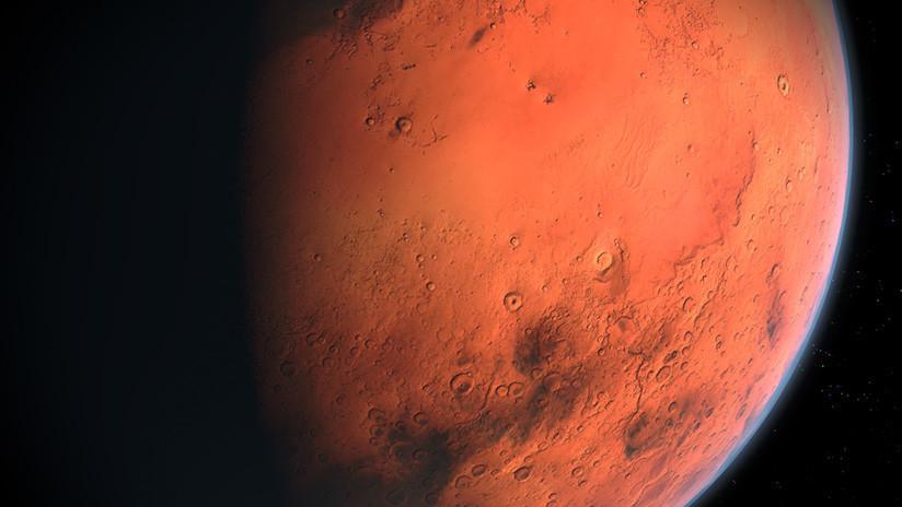 FOTOS: Increíbles imágenes de la NASA muestran glaciares enterrados en Marte