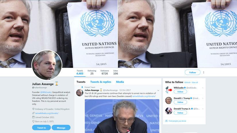 VIDEO: Cámara oculta graba a empleados de Twitter revelando por qué bloquean los mensajes de Assange