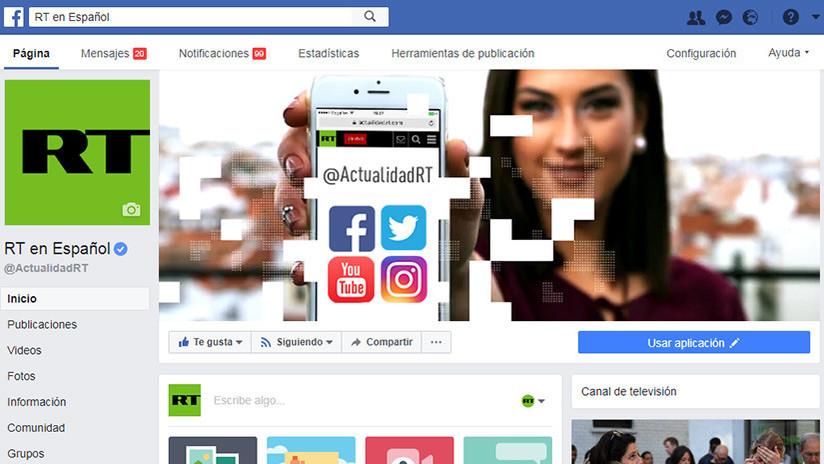¿Cómo no perderse las publicaciones de RT en Español tras los cambios en Facebook?
