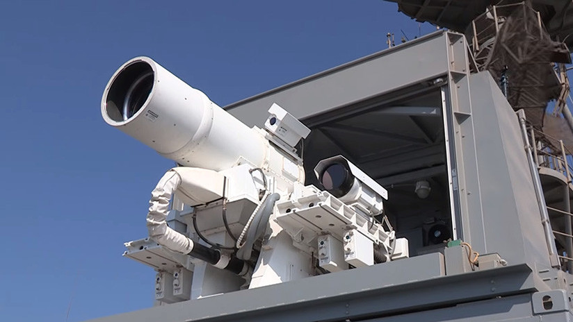 La Marina de EE.UU. probará un láser de combate de nueva generación