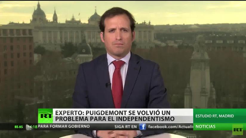"""Experto: """"Puigdemont se ha convertido en un problema para el independentismo"""""""
