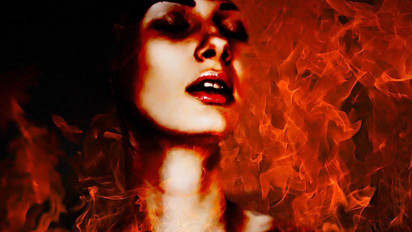 VIDEO: Arde el tocado de 'la diosa de la cosecha'