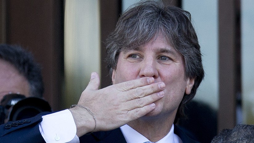 Liberan al exvicepresidente argentino Amado Boudou