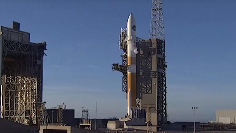 VIDEO: El cohete Delta IV despega en el marco de una misión secreta de EE.UU.