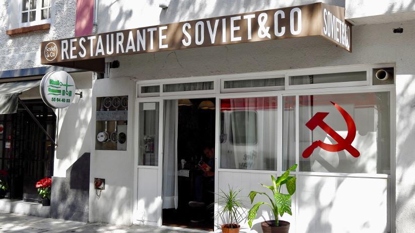 La vuelta a la URSS a través del paladar: El único restaurante soviético de Ciudad de México