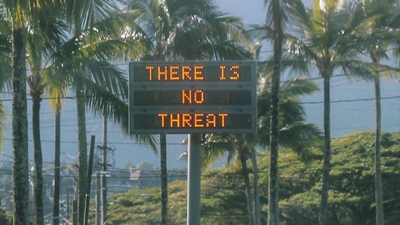 El gobernador de Hawái explica por qué fue enviada la falsa alerta de un misil balístico