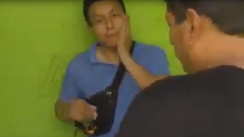 VIDEO: Detienen a un joven cuando intentaba abusar de una niña en un hotel a cambio de un celular