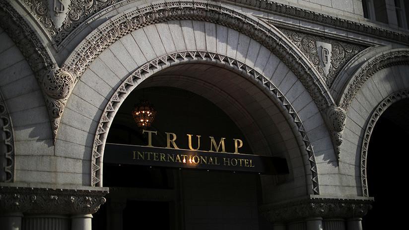 """Convierten un hotel de Trump en un """"agujero de mierda"""" (FOTOS, VIDEO)"""