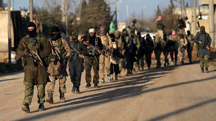 La coalición de EE.UU. trabaja con la oposición siria para formar nueva fuerza fronteriza en Siria