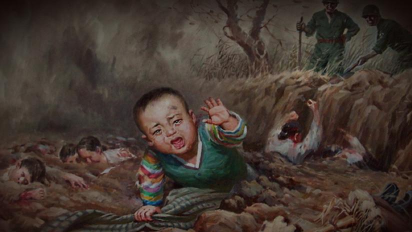 """VIDEO: Pionyang muestra en un museo las atrocidades de EE.UU. por """"matar más de 35.000 norcoreanos"""""""