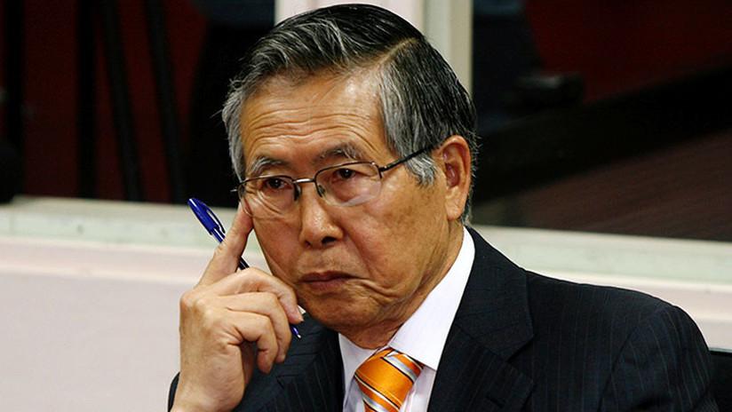 Hospitalizan al expresidente peruano Fujimori por una arritmia