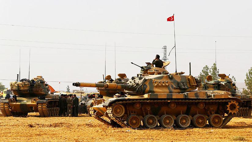 """Erdogan promete """"estrangular"""" el nuevo """"ejército terrorista"""" fronterizo apoyado por EE.UU. en Siria"""