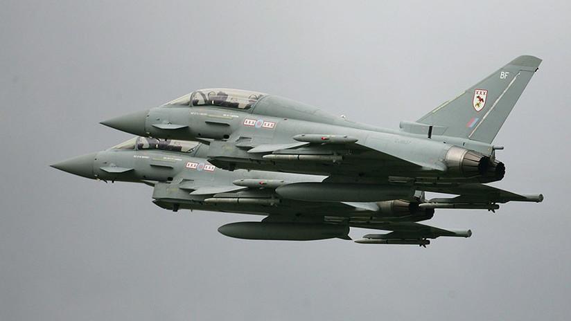 Reino Unido envía dos cazas para interceptar aeronaves rusas