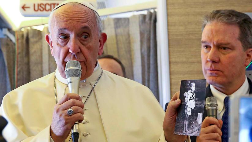 """Papa Francisco: """"Estamos al límite de una guerra nuclear"""""""