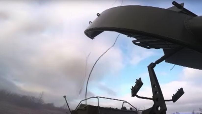 VIDEO: Así ensaya el 'dragón eslavo' UR-77 Meteorit la limpieza de un campo minado