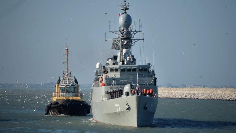 Graves daños: El accidente de un buque de guerra iraní es más serio de lo que se pensaba