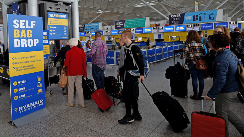 Una asociación española insta a boicotear a la aerolínea Ryanair