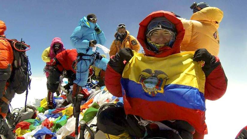 Carla Pérez: La única mujer latinoamericana en llegar a la cima del Everest sin oxígeno artificial