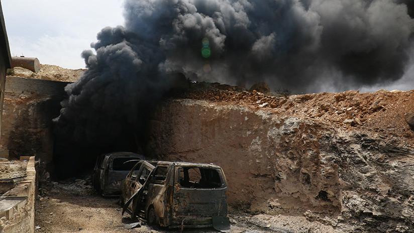 Ejército sirio afirma que los yihadistas utilizan armas químicas en su contra