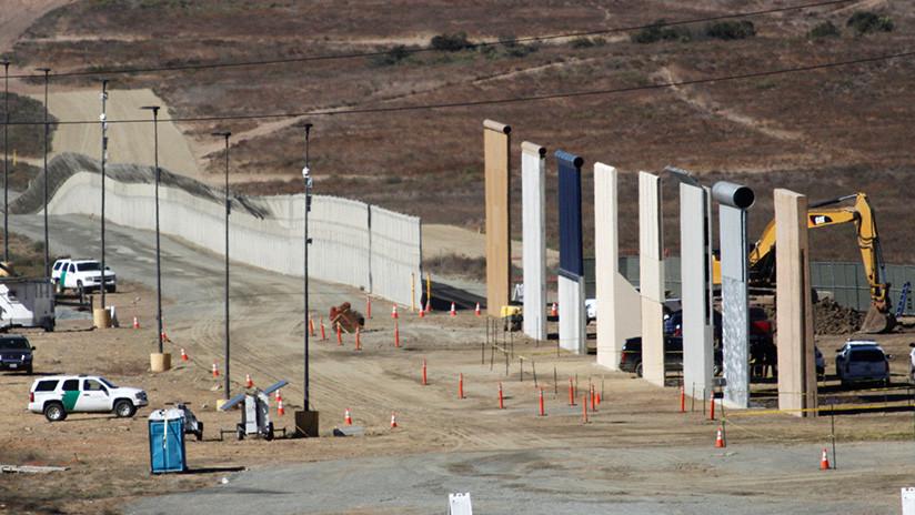 """""""Nuestra muy peligrosa frontera sur"""": Trump insiste en la necesidad de construir el muro con México"""